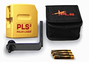 PLS Laser PLS-60528 PLS 2 Palm Laser Tool, Yellow