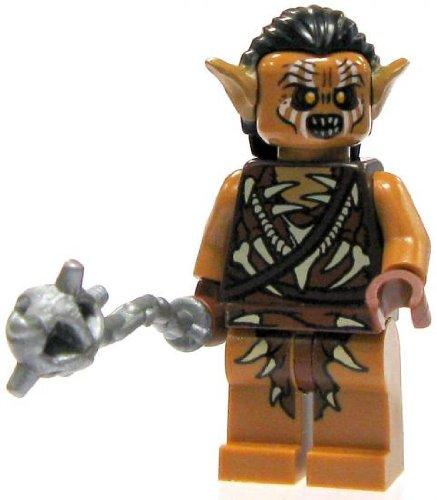 LEGO Hobbit LOOSE Mini Figure Gundabad Orc with Flail