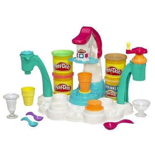 Play-Doh Magic Swirl Ice Cream Shoppe by Hasbro TOY (English Manual)