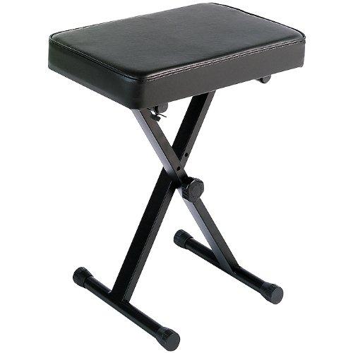 Yamaha Pkbb1 Single Braced Adjustable X-Style Keyboard Bench