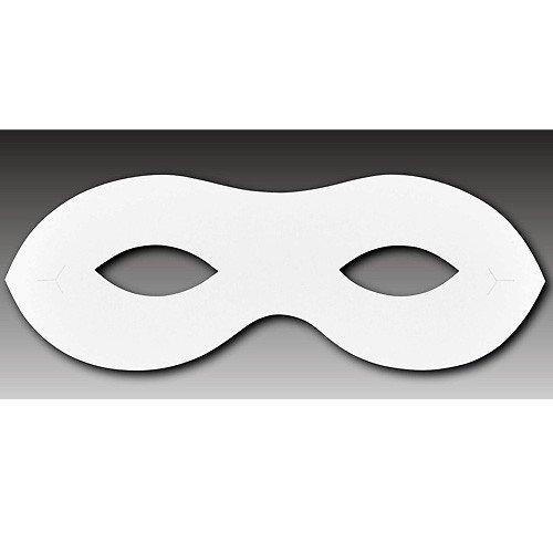 maske papier fasching halloween papiermaske 15 8cm 10 st ck. Black Bedroom Furniture Sets. Home Design Ideas