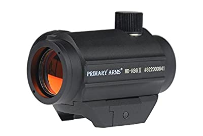 Primary Arms Micro Red Dot Sight w/ Removable Base - 2 MOA Dot MD-RBGII by Primary Arms