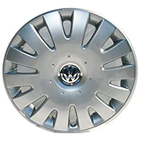 Volkswagen - 1K0601147GQLV Jetta 16 Inch New Factory Original Equipment Hubcap: Automotive - TitanicImports.com