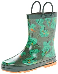 Kamik Explore Rain Boot (Toddler/Little Kid),Green,2 M US Little Kid