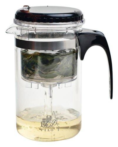 Canton Tea PI00265 Piao-I Teezubereiter aus Glas, 500 ml
