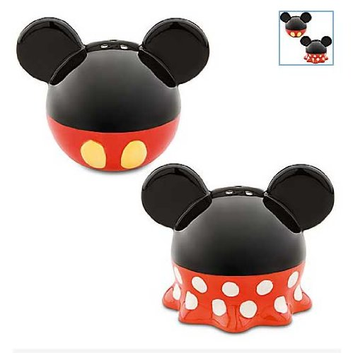 Best of Mickey Mouse Salt and Pepper Shakers by