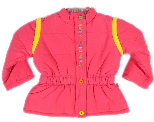 agatha-ruiz-de-la-prada-2-in-1-bebe-fille-veste-d-hiver-rose-fuchsia-jaune