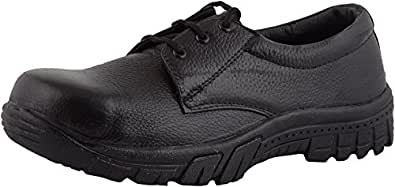 Sunshine Leather Safety Shoe With Steel Toe available at Amazon for Rs.299