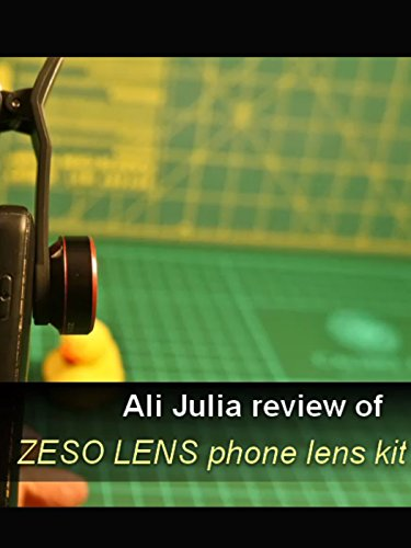 Review of Zeso Lens Kit For  Smartphones by Ali Julia