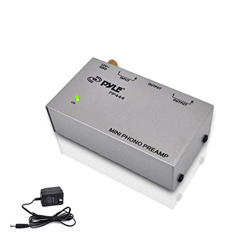 PYLE-PRO PP444 Ultra Compact Phono Turntable Preamp (Turntable Preamp compare prices)