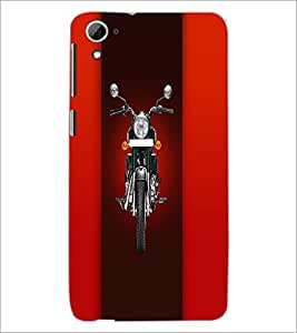 Printdhaba Bike D-4458 Back Case Cover For Htc Desire 826