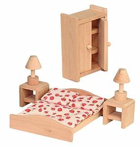 beluga 70116 - Mobili per camera da letto per casa delle bambole ...