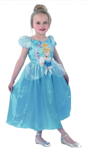 Classic Cinderella Medium Girls Disney Princess Blue Fancy Dress Party Costume