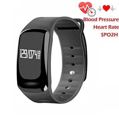 Blood Pressure Bracelet Fitness Tracker - Homestec S4 Smart Watch with SPO2H...