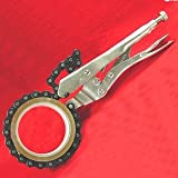 """Anytime Tools 19"""" LOCKING CHAIN CLAMP PIPE OIL FILTER WRENCH"""