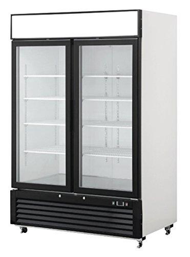 2 Door Commercial Glass Reach In Refrigerator Merchandiser Cooler Display Case (2 Door Beverage Cooler compare prices)