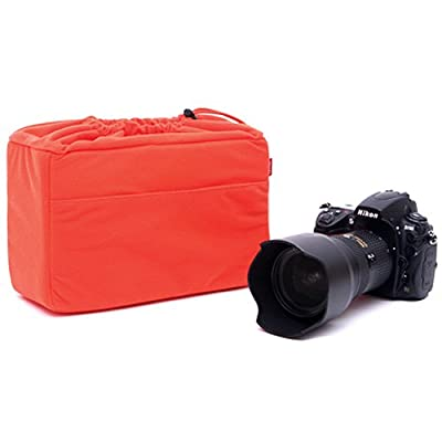 MATIN Cushion Partition Insert Padded Bag Case NDCP-60 Orange for DSLR SLR Mirrorless Camera Lens