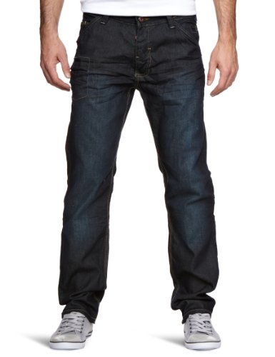 Bench Curtis Tapered Men's Jeans Dark Rinse W34INxL32IN