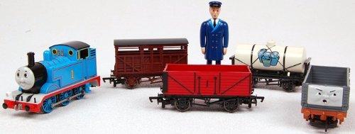 Imagen de Bachmann Trains Fun Thomas con carga Set Ready - To - Ejecutar Escala Ho Juego de tren