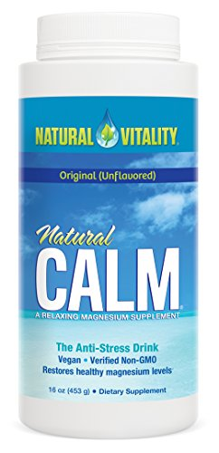Natural Vitality Natural Calm Magnesium Anti Stress, Orignal, 16 oz