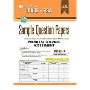 Problem solving assessment for class 8 sample papers