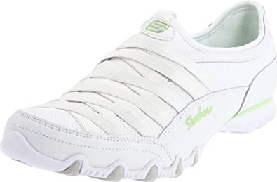 Skechers Bikers Fixation Womens Sneakers White 11
