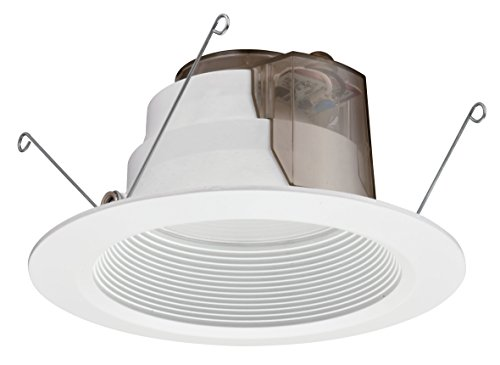 Lithonia Lighting 6Bpmw Led 30K 90Cri M4 6-Inch 3000K 90 Cri Led Baffle Down Light Module, Matte White