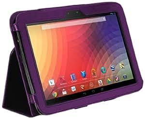 CaseCrown Bold Standby Étui (Violet) pour Google Nexus 10 (réveille et redresse)