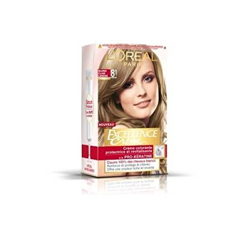 loreal excellence coloration n81 blond clair cendr - Blond Cendr Coloration