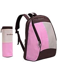 Segolike Mummy Nappy Bag Large Capacity Baby Bag Travel Backpack Nursing Bag For Baby Care - Pink
