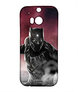 Block Print Company Team Red Black Panther Phone Cover for HTC M8