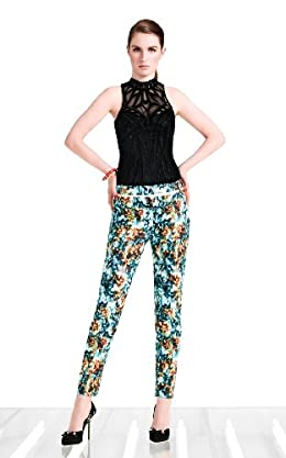 Floral Print Pants