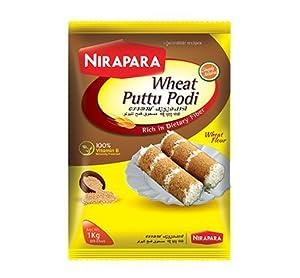 Amazon.com : Nirapara Wheat Puttu Podi 1kg : Grocery & Gourmet Food