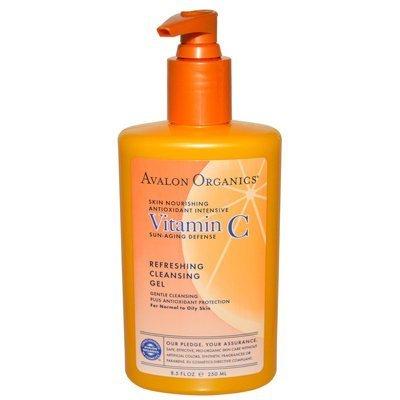 Avalon Organics Refreshing Cleansing Gel Vitamin C - 8.5 Fl Oz Avalon Organics Refreshing Cleansing