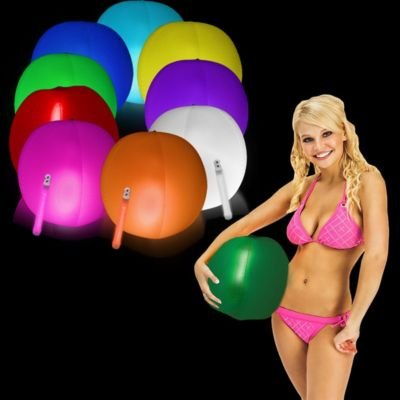 "Glow in the Dark Beach Ball 12"" , 1 Each"