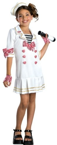 Rubies Girls Bratz Doll Halloween Costume Kids Sailor Outfit S