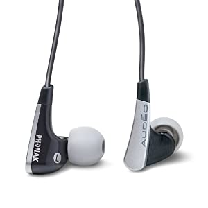 Audeo Perfect Fit Earphones 112 (Black)