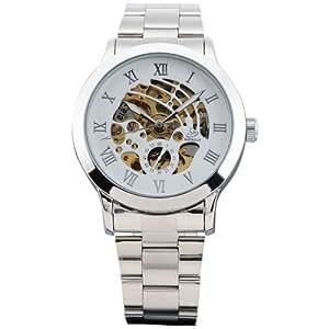 AMPM24 Elegante Klassisch mechanische Handaufzug Herrenuhr Armbanduhr Uhr PMW026
