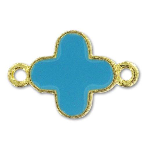 intercalaire-croix-email-epoxy-22x15-mm-dore-turquoise-x1
