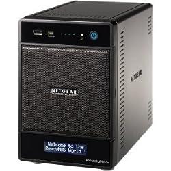 Netgear ReadyNAS Pro 4, 2TB Unified Storage System (4TB: 2 x 1TB) (RNDP4210)