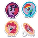 My Little Pony Cupcake Rings - 24 ct