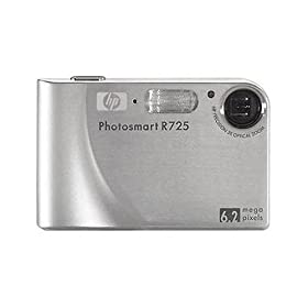 HP Photosmart R725 6.2MP Digital Camera with 3x Optical Zoom