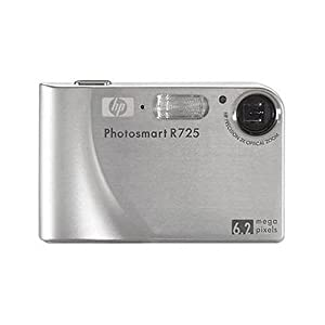 "Hewlett Packard (HP) NEW HP Photosmart R725 Slim 6.2MP, 24x Zoom, 2.5"" LCD Digital Camera at Sears.com"