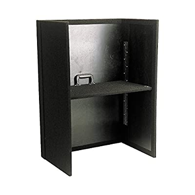 Odyssey CF2128 Carpeted Foldout Stand For Most Combo Racks And Dj Coffins