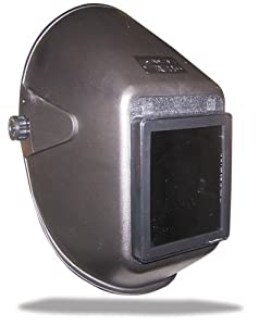 US Forge 88101 Easy Strike Welding Helmet with 4-1/2-Inch by 5-1/4-Inch Full Vision Stationary Retainer, Black from US Forge
