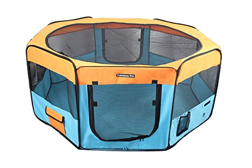 Portable Doggie, Puppy, Cat, Kitten Play Pen, Large Size