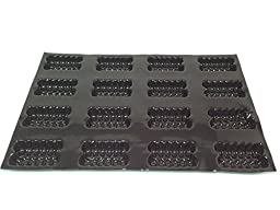 Sasa Demarle FP 01081 Fluted Cake Molds Flexipan, 16 Cavities, 26\