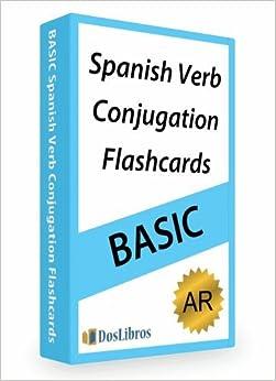 Verb Conjugation Flashcards: -AR Verbs: Dos Libros: Amazon.com: Books
