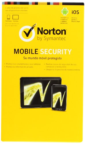 SYMANTEC - ANTIVIRUS NORTON MOBILE SECURITY TABLETAS SMARTPHONE IPHONE IPAD