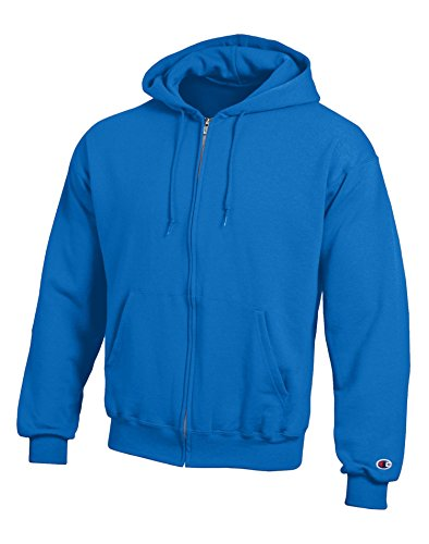 Champion Adult Eco Full-Zip Hooded Fleece, X-Large, Navy